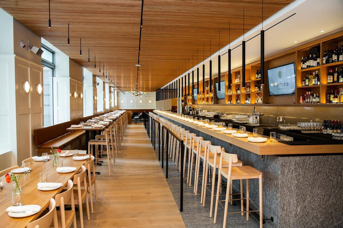 Cortina Restaurant / 2 Union Square