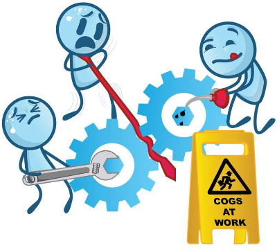cogs at work