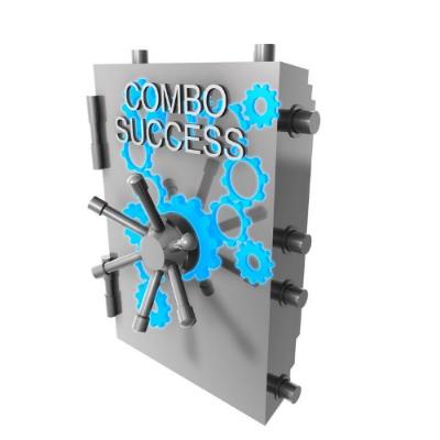 success combo lock safe