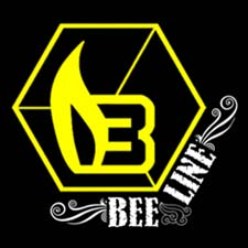 Bee Line Yellow Stamp