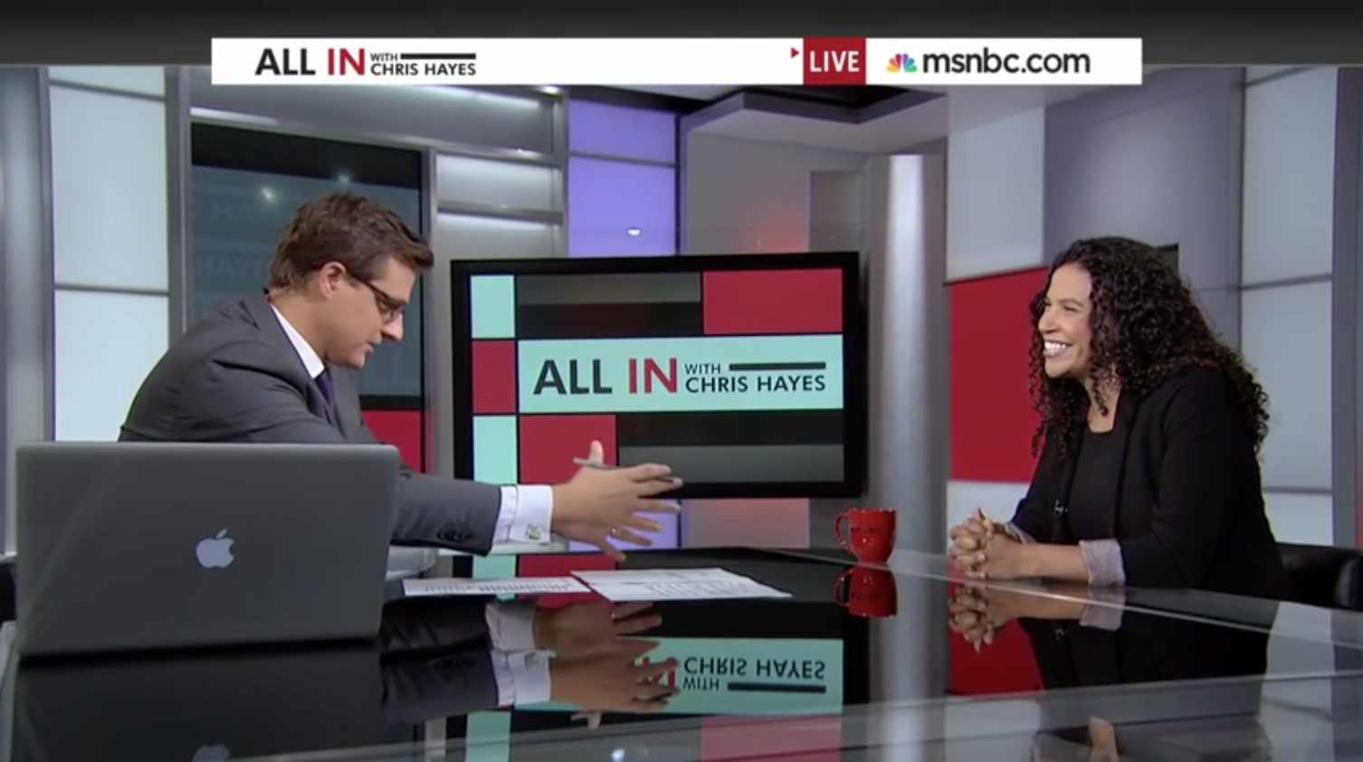 """One of the most profound meditations on race I've ever actually experienced.  It's great"" - Chris Hayes / MSNBC"
