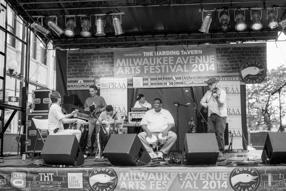 Milwaukee Avenue Arts Festival 2014, photo by  Nettie Wasowski