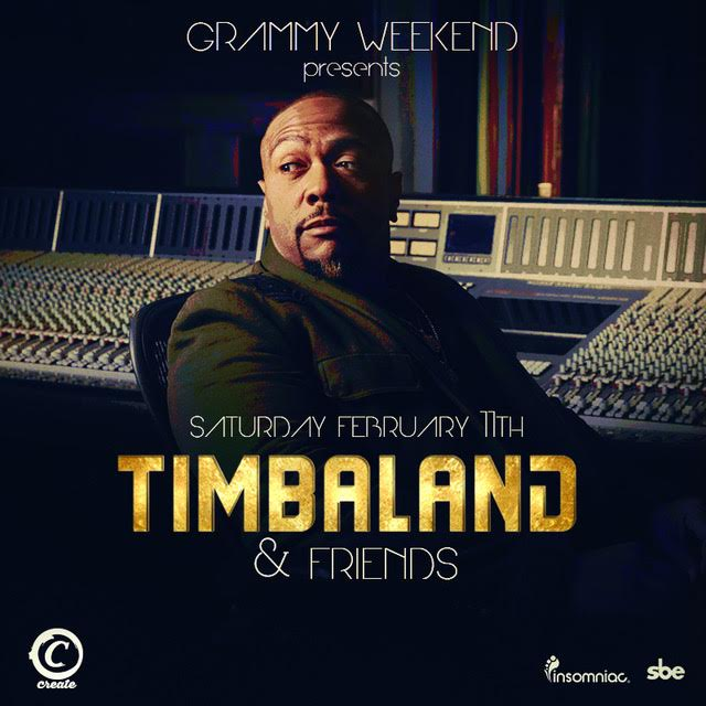 ***NEWS UPDATE***  Saturday February 11, 2017  This will be Grammy Weekend presents Timbaland & Friends  Ticket link:  http://bit.ly/Timbaland211   When ready to purchase tickets, under PROMOCODE, enter, KINKYLAMODE, for a reduced rate for my friends! Hurry they will not last.  Text 323.296.9528 for Guestlist and bottle service!