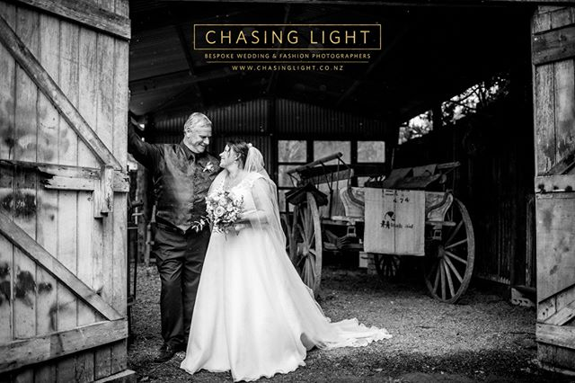 Rain on your wedding day?  Yes please. ❤️ Chasing Light: Bespoke Wedding & Fashion Photography. © Chasing Light 2019. www.chasinglight.co.nz