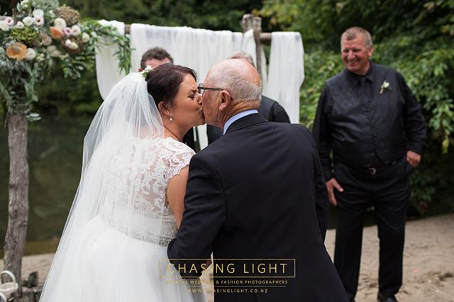 Lisa & her Dad.  Chasing Light: Bespoke Wedding & Fashion Photography. © Chasing Light 2019. www.chasinglight.co.nz