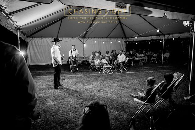 Front-row seats.  Chasing Light: Bespoke Wedding & Fashion Photography. © Chasing Light 2019.  New Zealand Boutique Wedding Photographers www.chasinglight.co.nz
