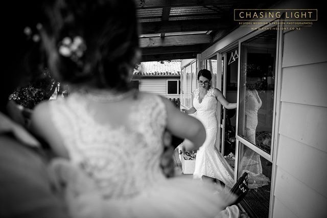 When you first step out... © Chasing Light 2019. New Zealand Boutique Wedding Photographers  www.chasinglight.co.nz