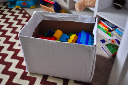 Make a simple toy box!