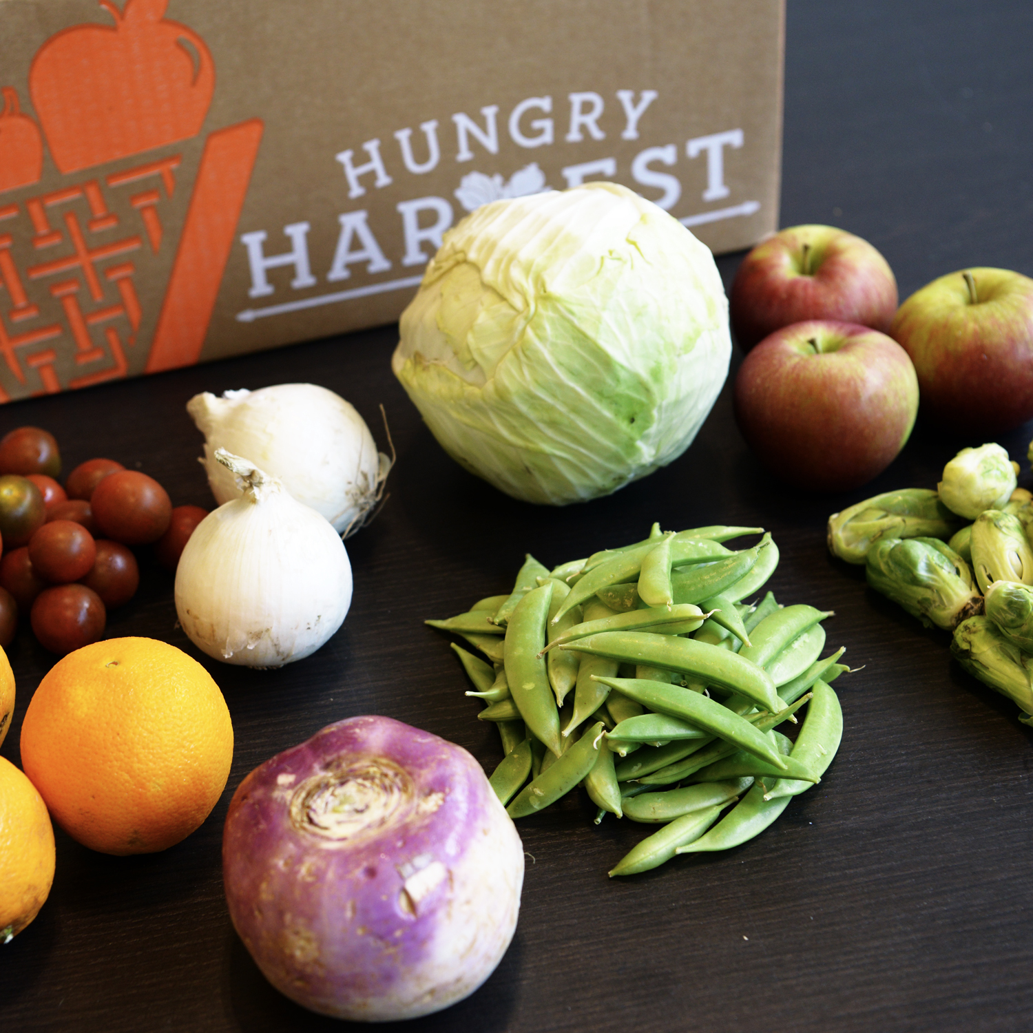 August 17, 2018 - Tomatoes, Onions, Cabbage, Apples, Brussels Sprouts, Snap Peas, Turnips, Navel OrangesFind the recipes here