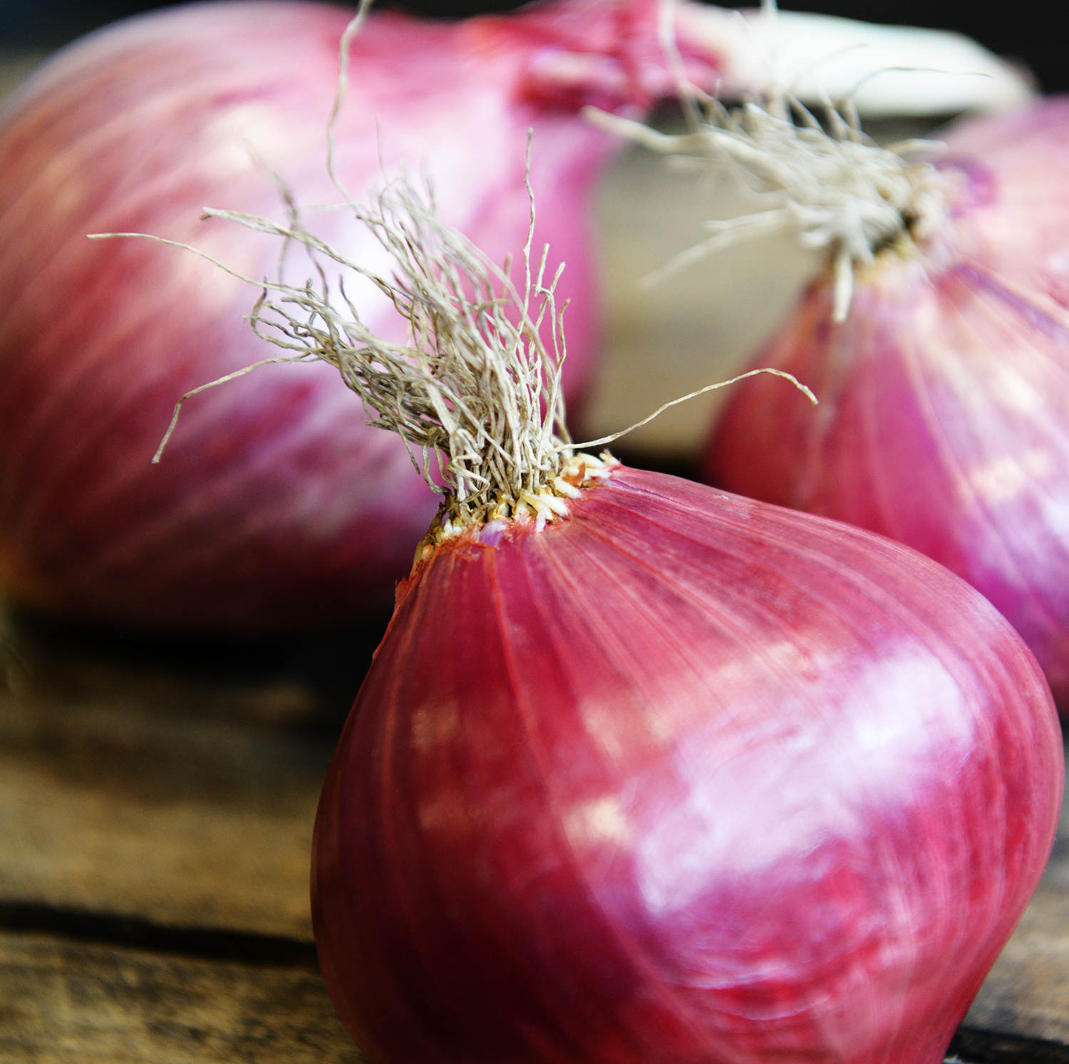 2. Onions, garlic and potatoes like to hang out together. - True or False?