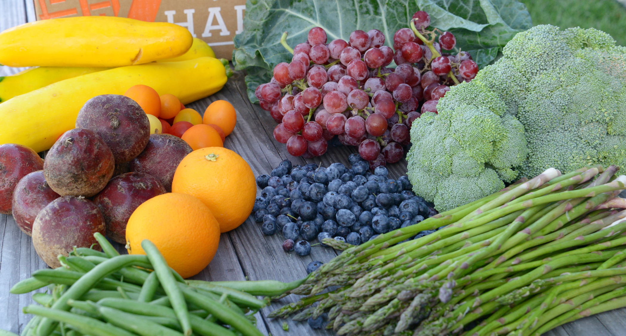 Welcome Blue365 Members! - HUNGRY HARVEST offers convenient, healthy, farm fresh produce that is good for you, good for your wallet and good for the planet… and it's only a click away! Get $20 off when you sign up with promo code HARVEST365