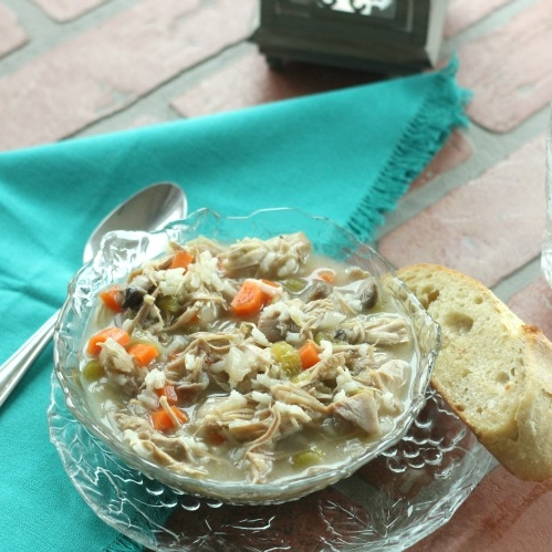 7. Leftover Turkey Carcass Soup - When in doubt, make soup.VIEW RECIPEPhoto: Clever Housewife