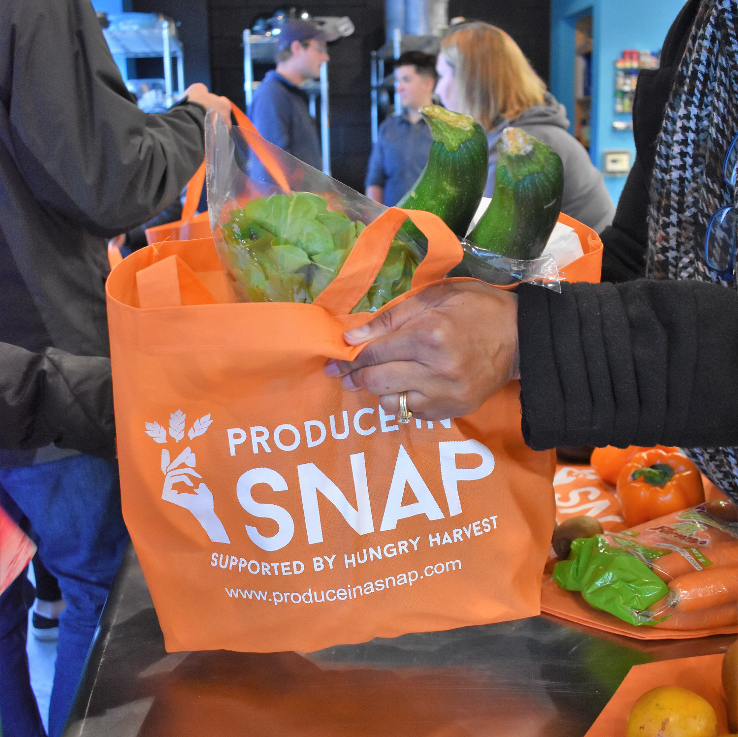 2. 2016: Our First Produce in a SNAP Market -