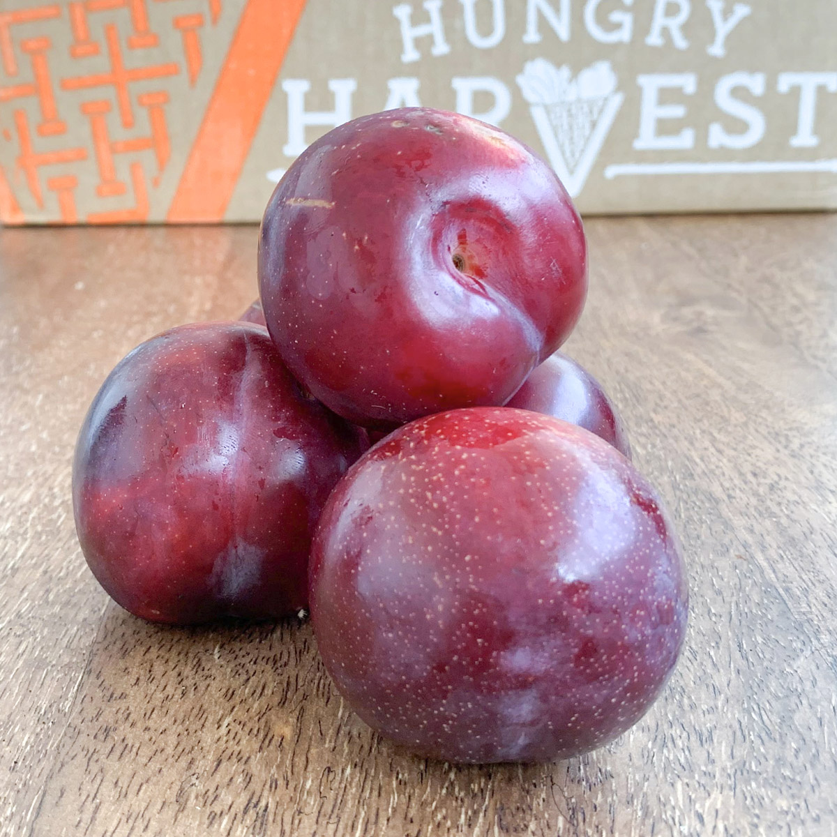Honey Glazed Plums with Almonds and Creme FraicheThe perfect summer dessert flavor combination. - Find the recipe at: My Recipes