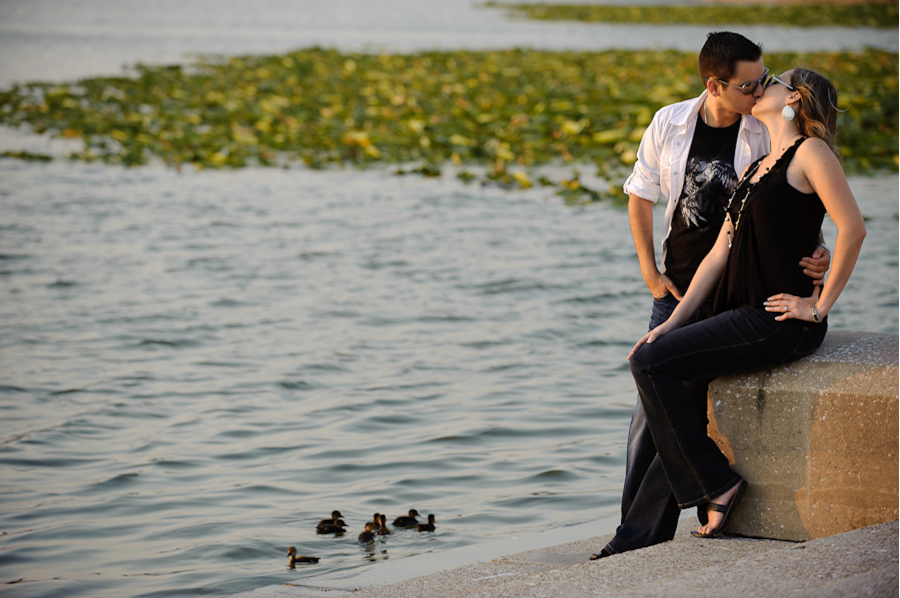 Downtown Lakeland | Fun Engagement Photography