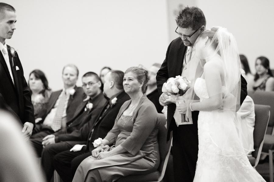 Crestview Baptist Church Wedding