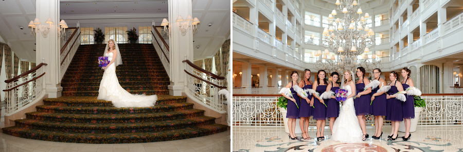 Disney Wedding Grand Floridian Orlando FL