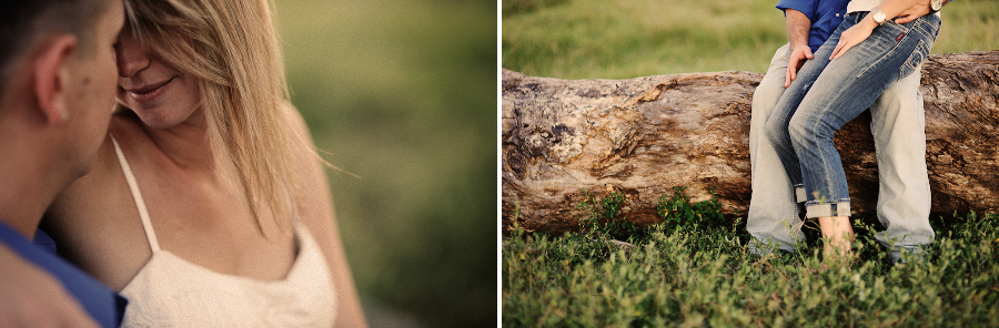 Santa Fe River Ranch | golden light photography | engagement session