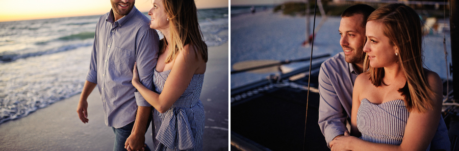 Indian Rocks Beach | Engagement and Wedding Photography | Beach House