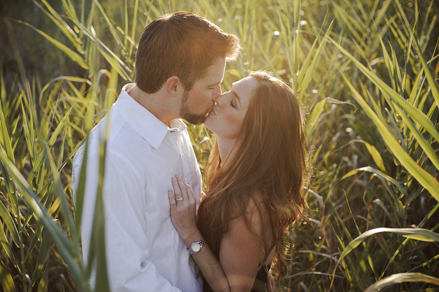 Tall Grass | Couple | Daytona Beach Wedding Photography | Engagement