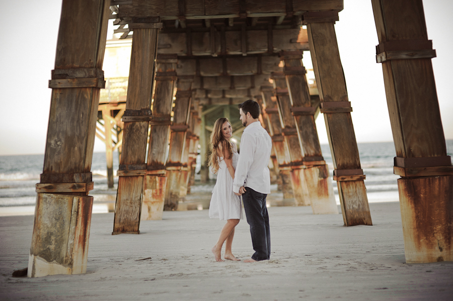 Sunglow Pier | Daytona Beach Wedding Photography