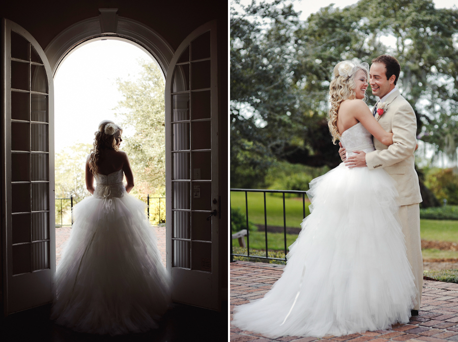 Marie Selby Gardens Wedding | Sarasota FL | First Look