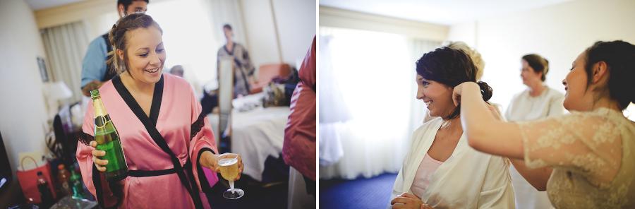 hotel bridal party