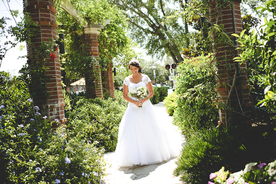 sunglow photography, down town winter park wedding