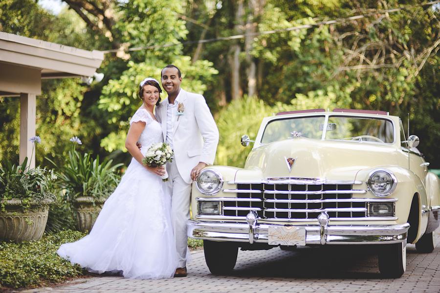 wedding antique convertible