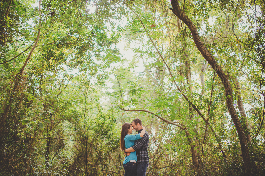 sunglow photography, engagement session, woods