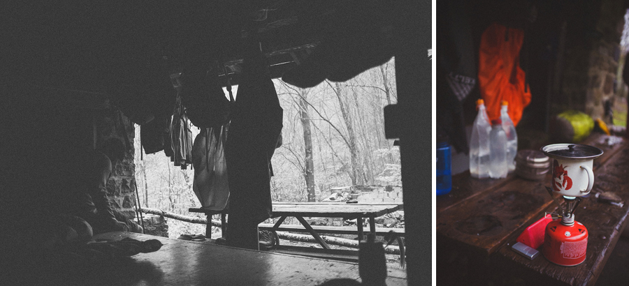appalachian trail, shelter