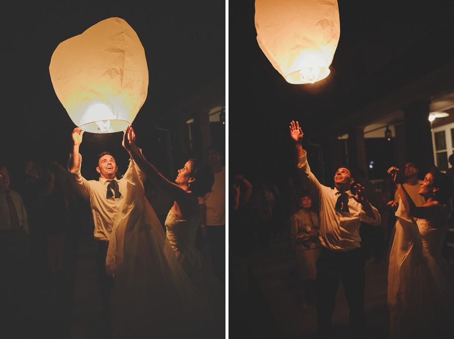 wedding wish lantern