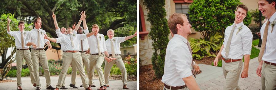 lakeland wedding groomsmen