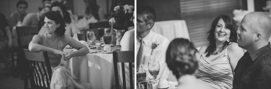 slideshow at wedding