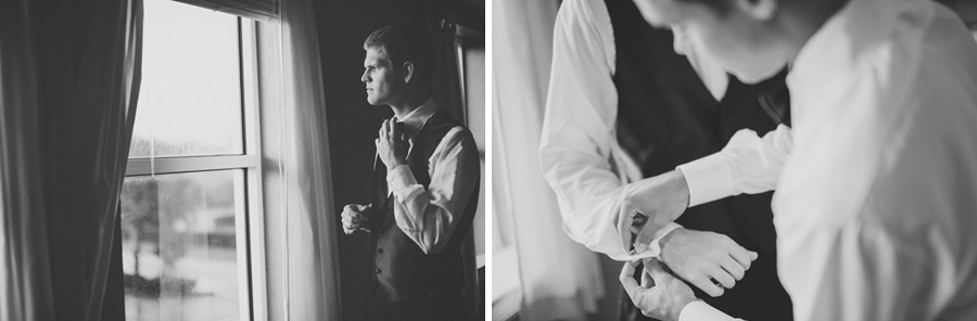 groom tux and cuff links