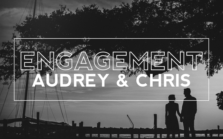 Ponce Inlet Engagement Session Audrey Smith and Chris Hoover