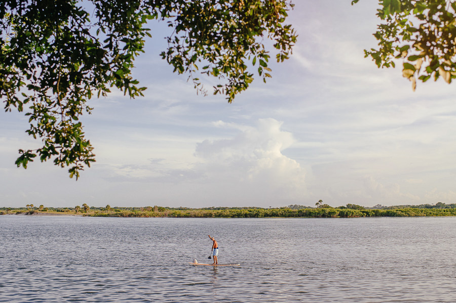 paddle boarding ponce inlet