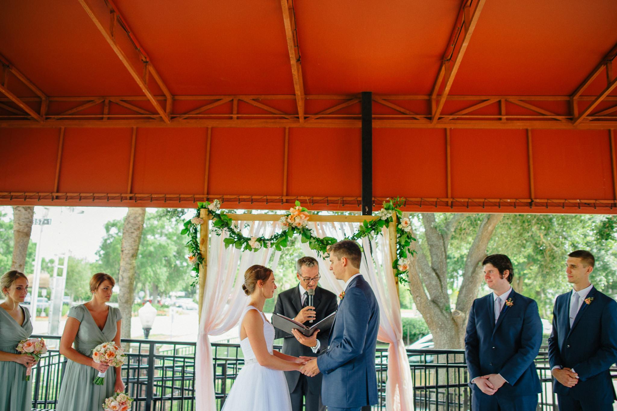 Winter Park Farmer's Market Wedding