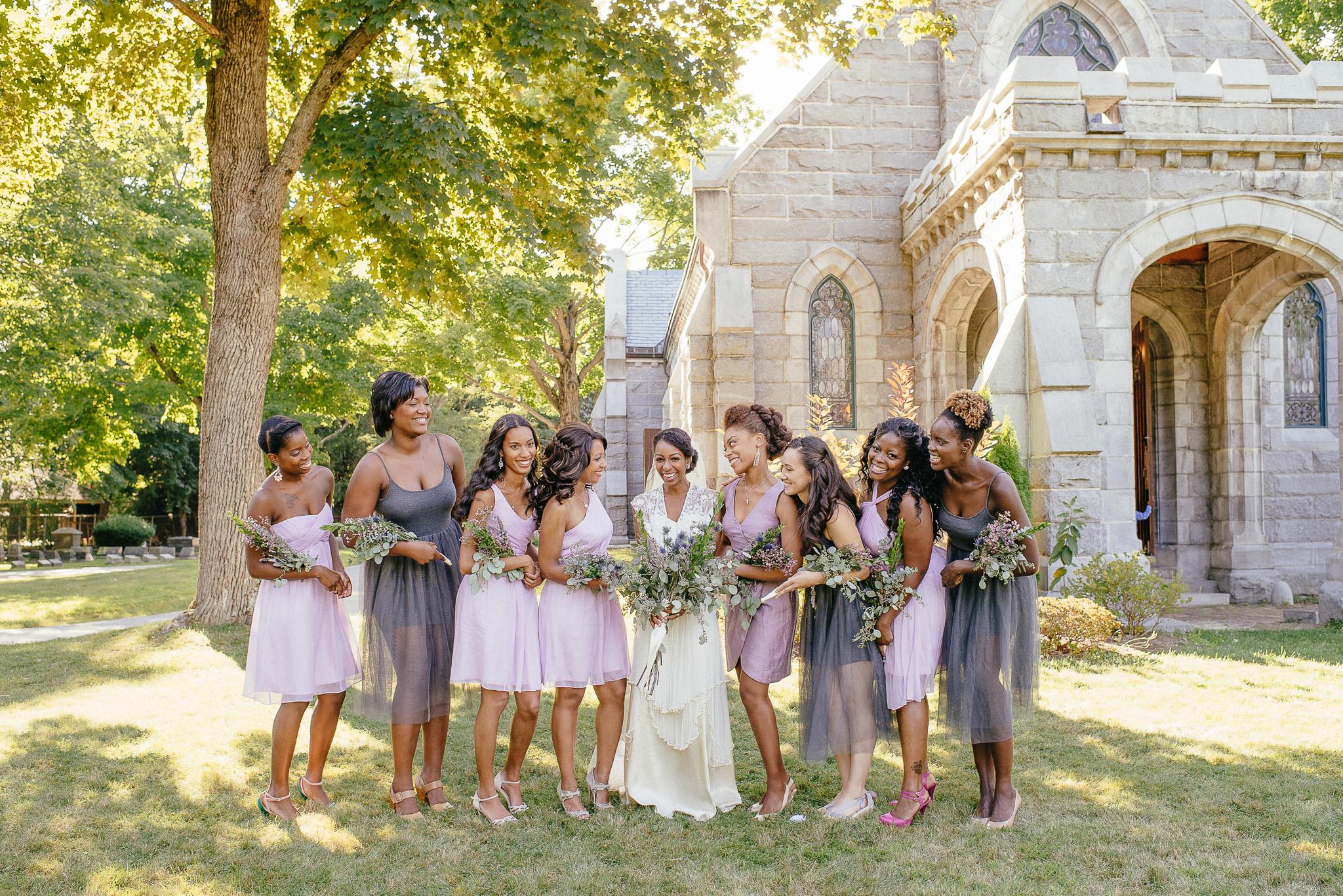 lavender and grey diy wedding, vintage inspired wedding dress