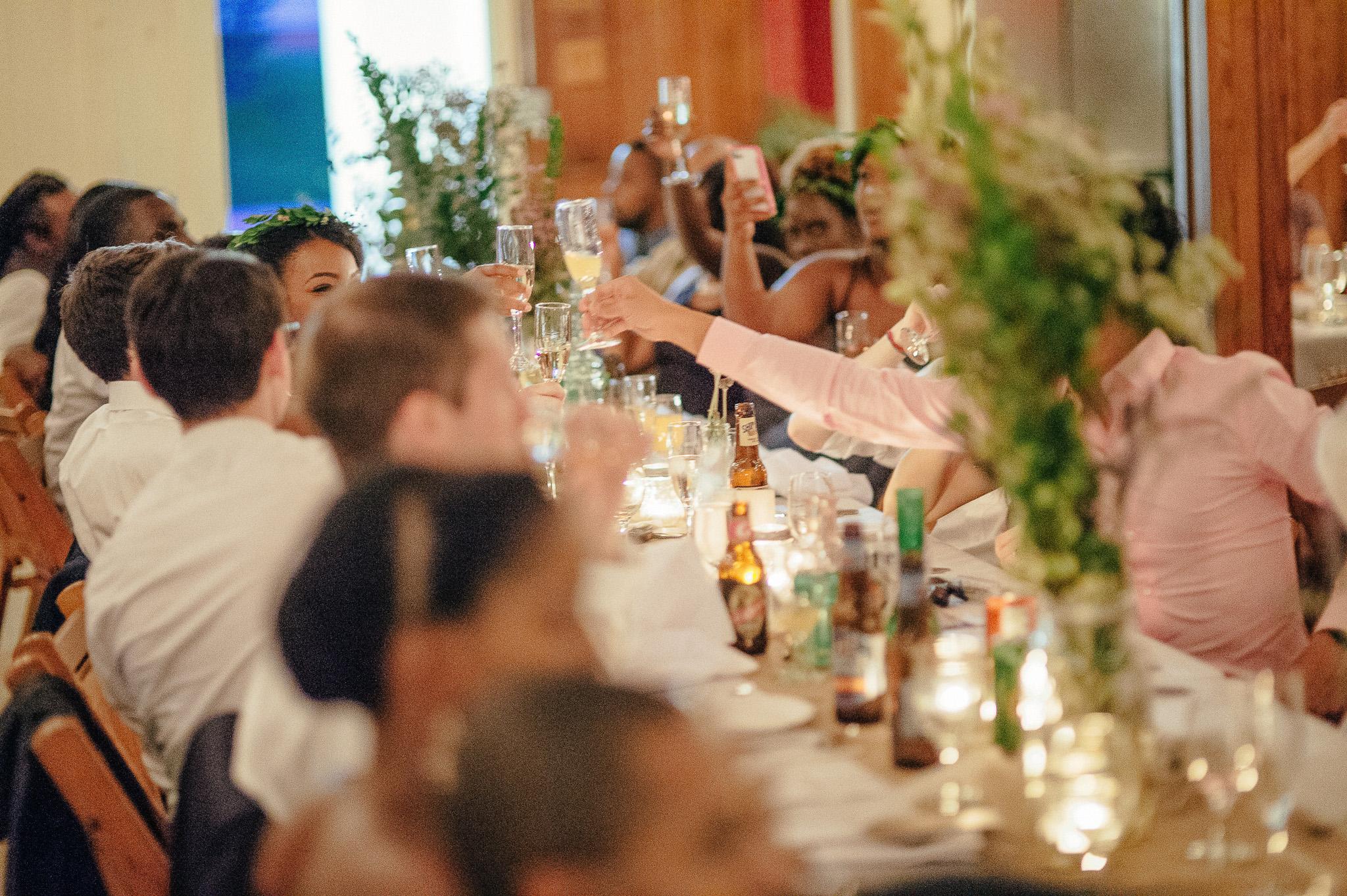 Sprague Hall Wedding Reception