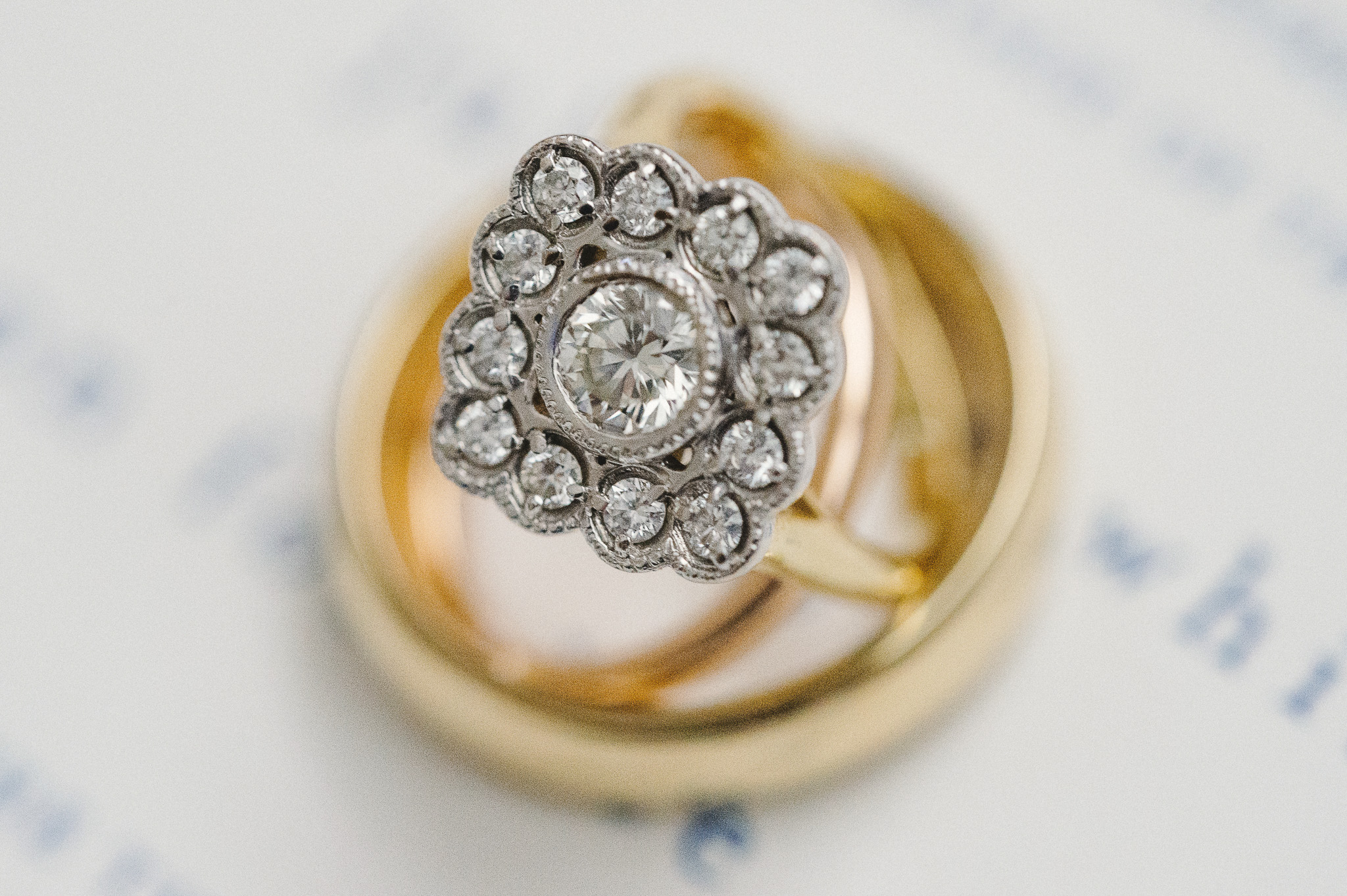 Vintage Inspired Wedding Ring