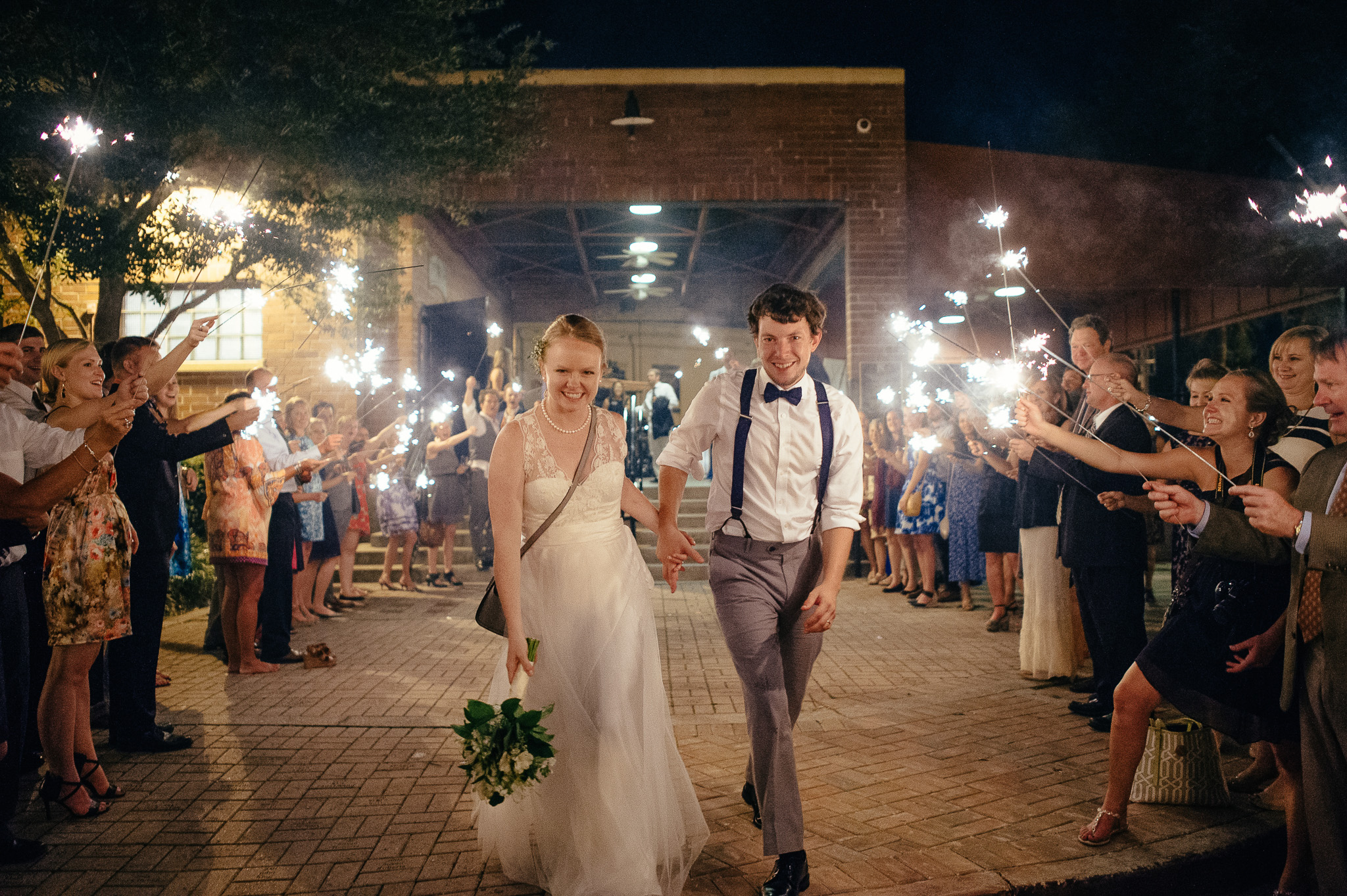 Winter Park Farmers Market Wedding Reception