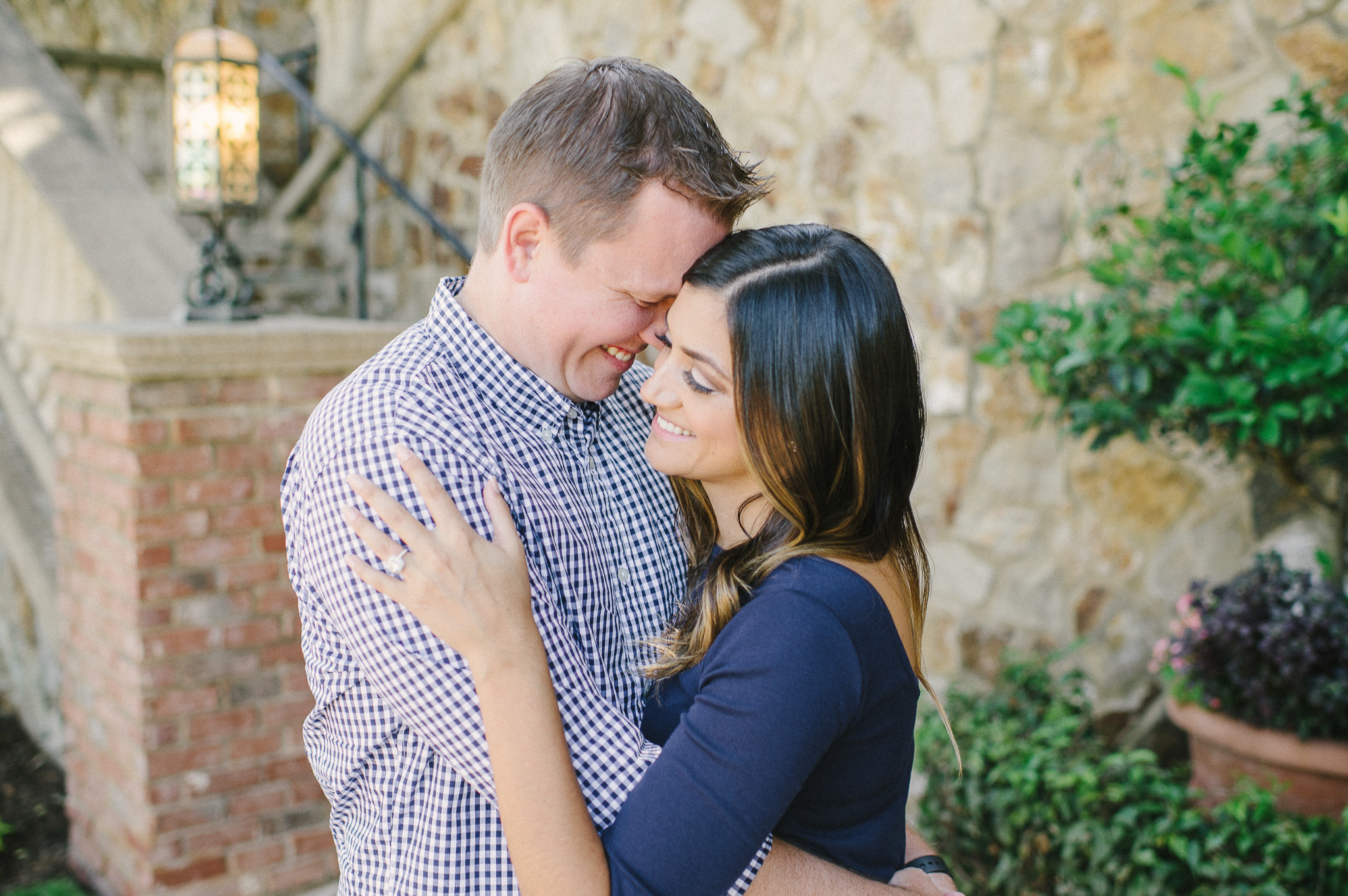 Tuscany inspired engagement session