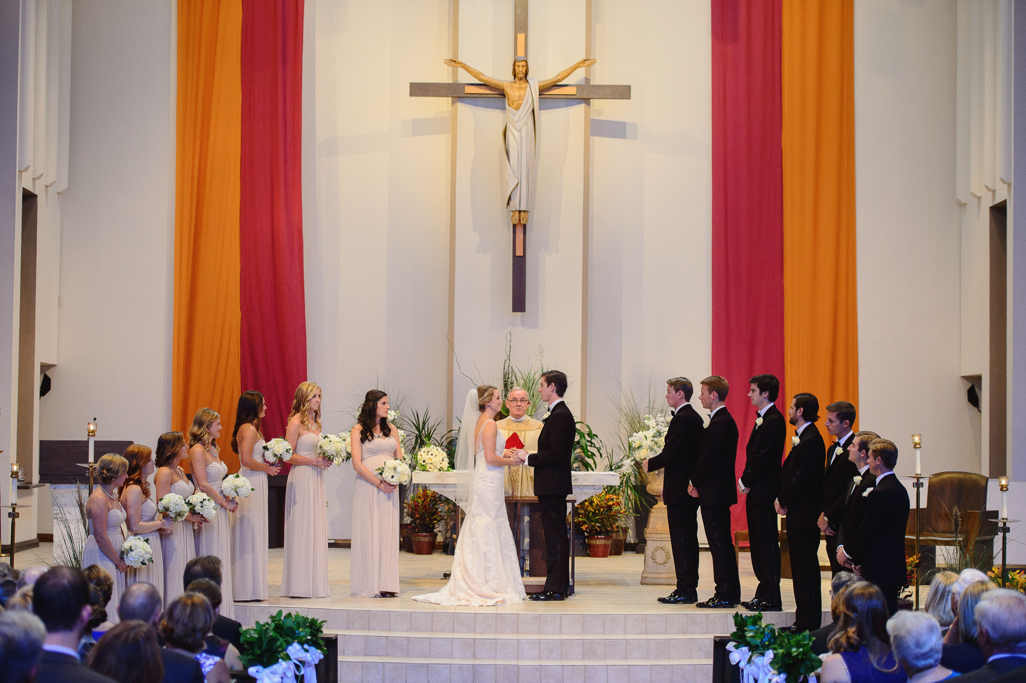 St. Margaret Mary Catholic Church Winter Park, FL Wedding