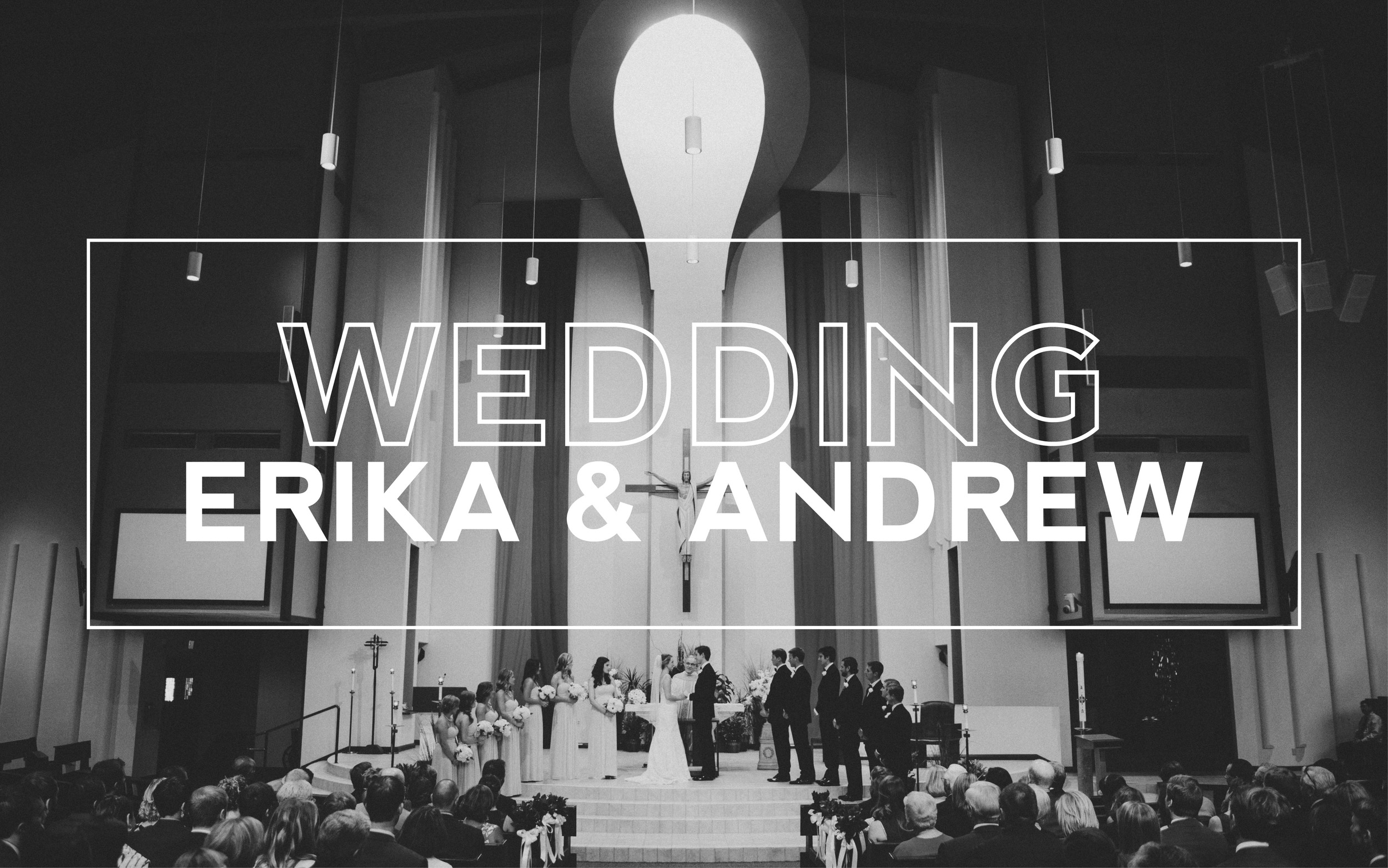 St. Margaret Mary Catholic Church and Dubsdread Wedding Winter Park, FL | Erika and Andrew Puff