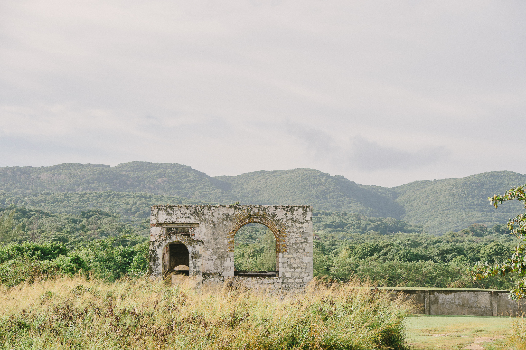 Rose Hall Ancient Aqueduct Montego Bay Jamaica
