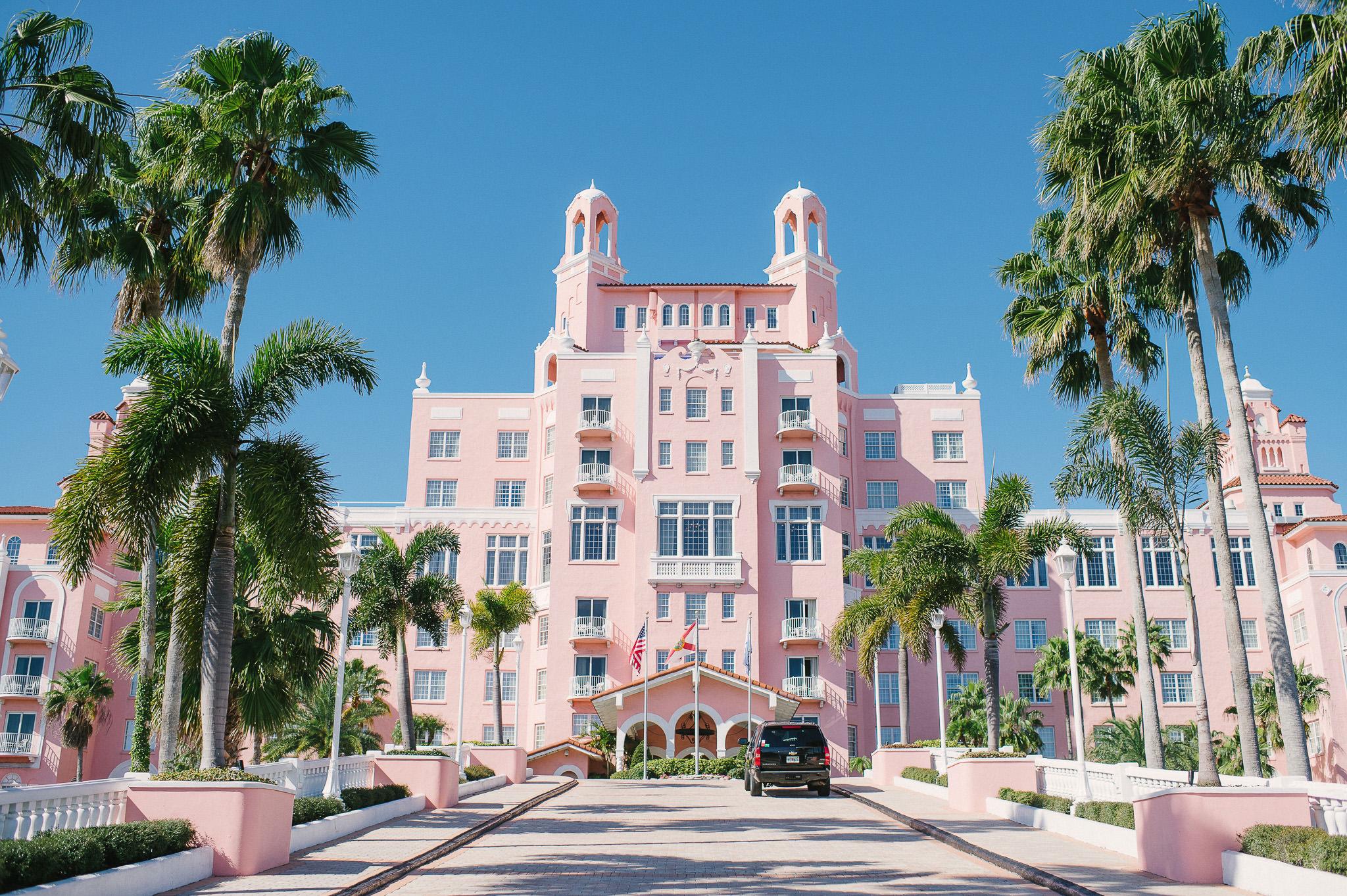 Historic Don Cesar Resort St Pete Florida