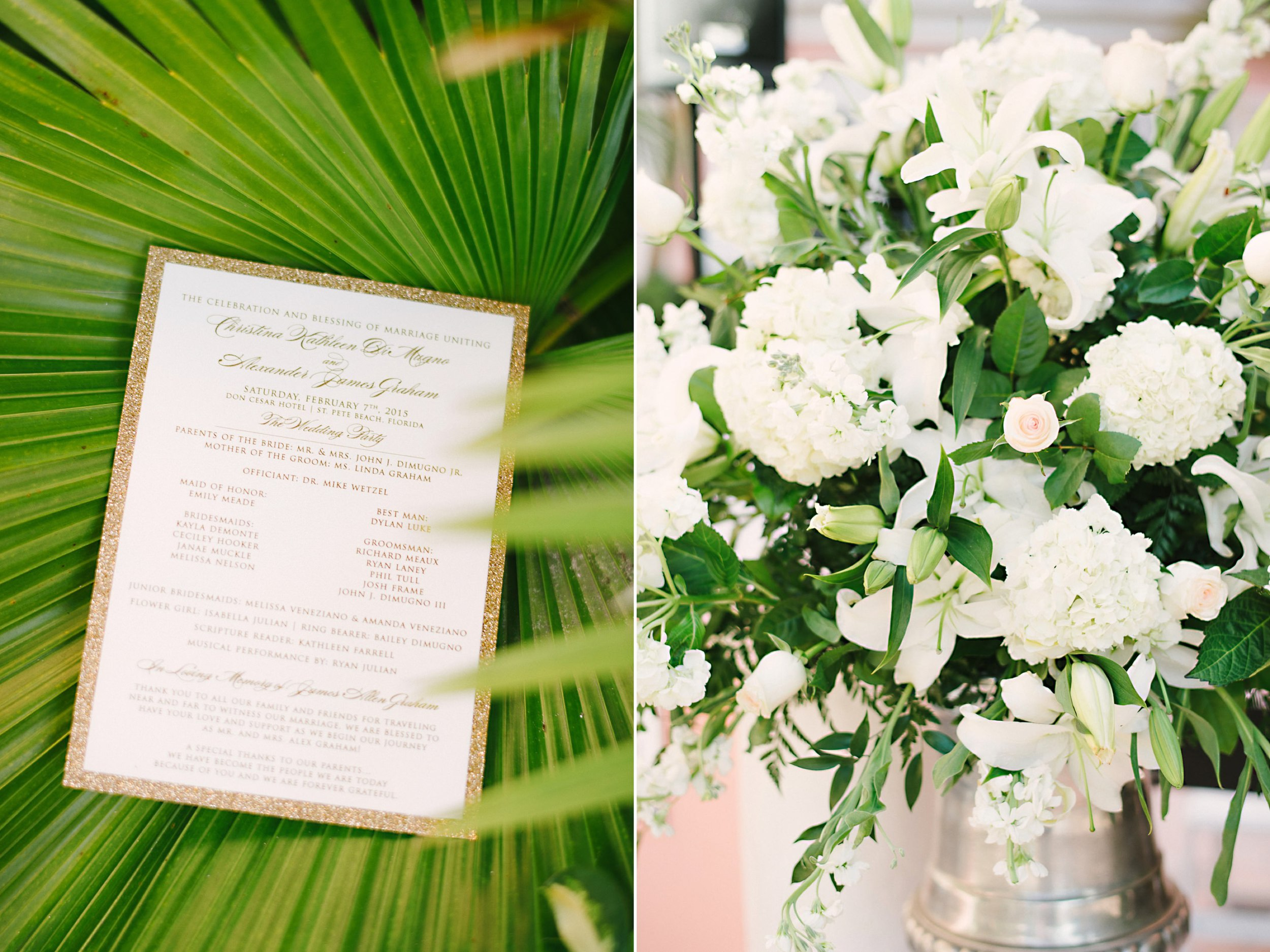 Redman Steele Wedding Flowers