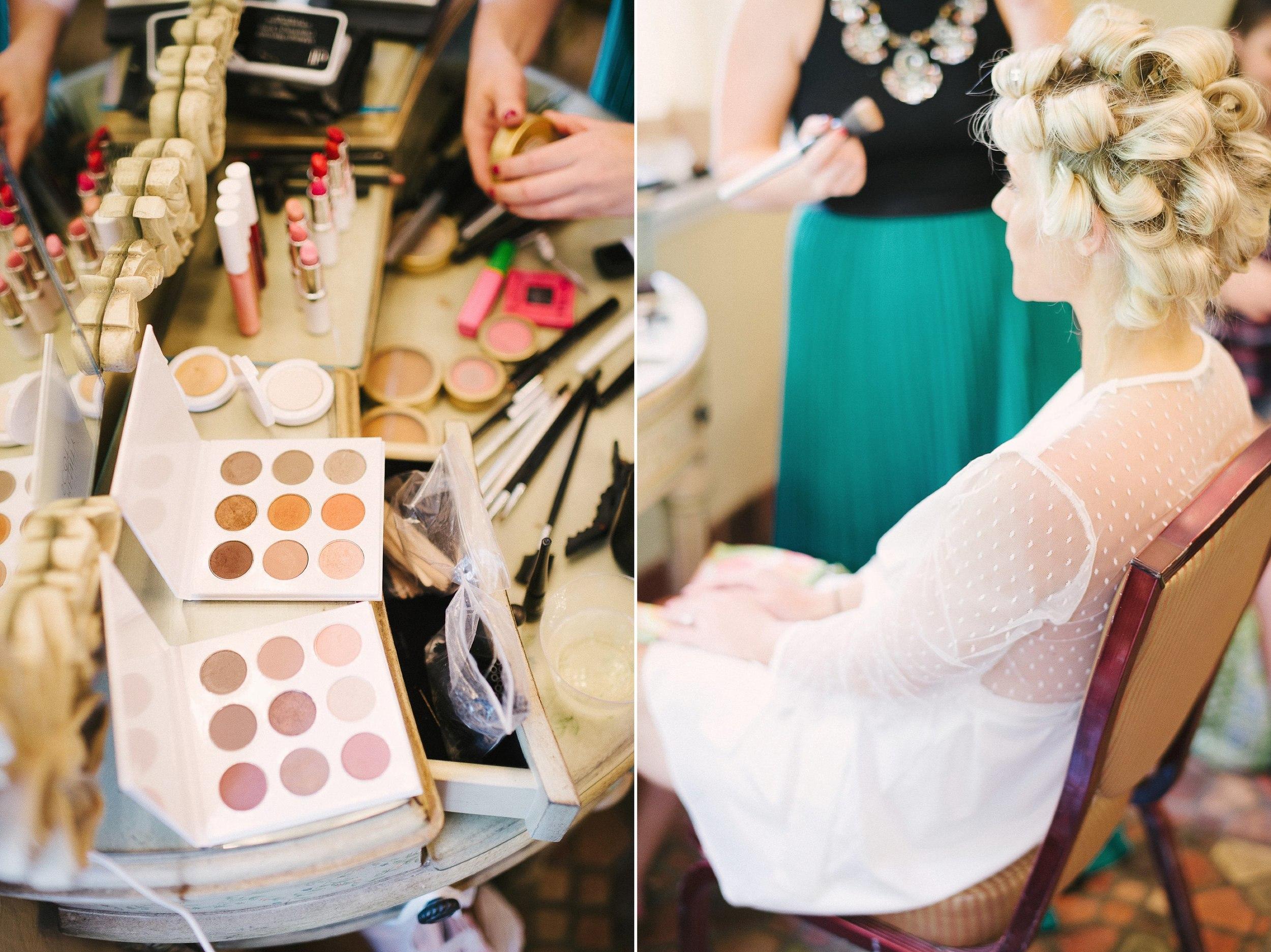 Salon Color Bar Wedding Make Up