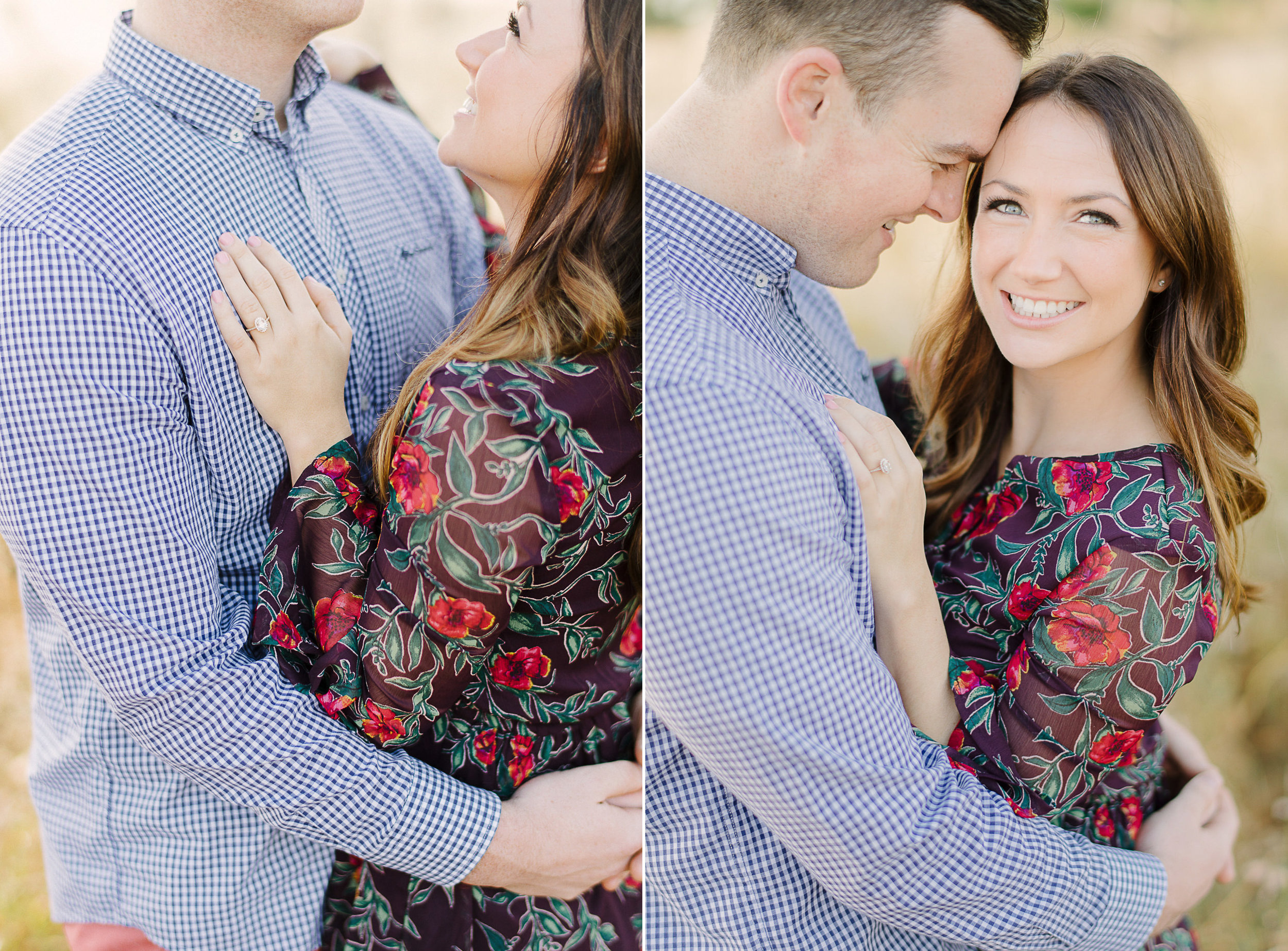 Open Field Engagement Session Lake Louisa State Park